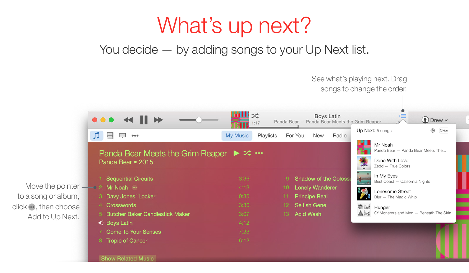 how to change the look of itunes 12