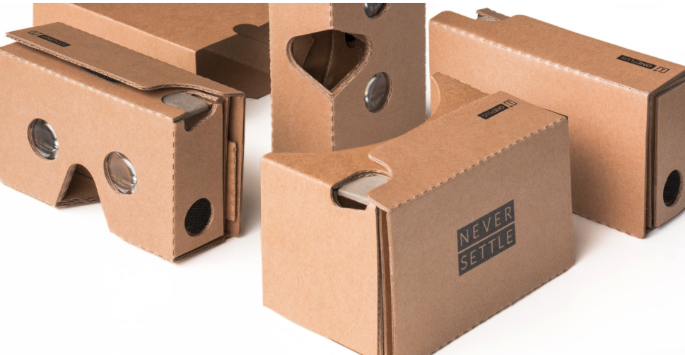 OnePlus is giving away cardboard VR headsets in advance of OnePlus 2 launch