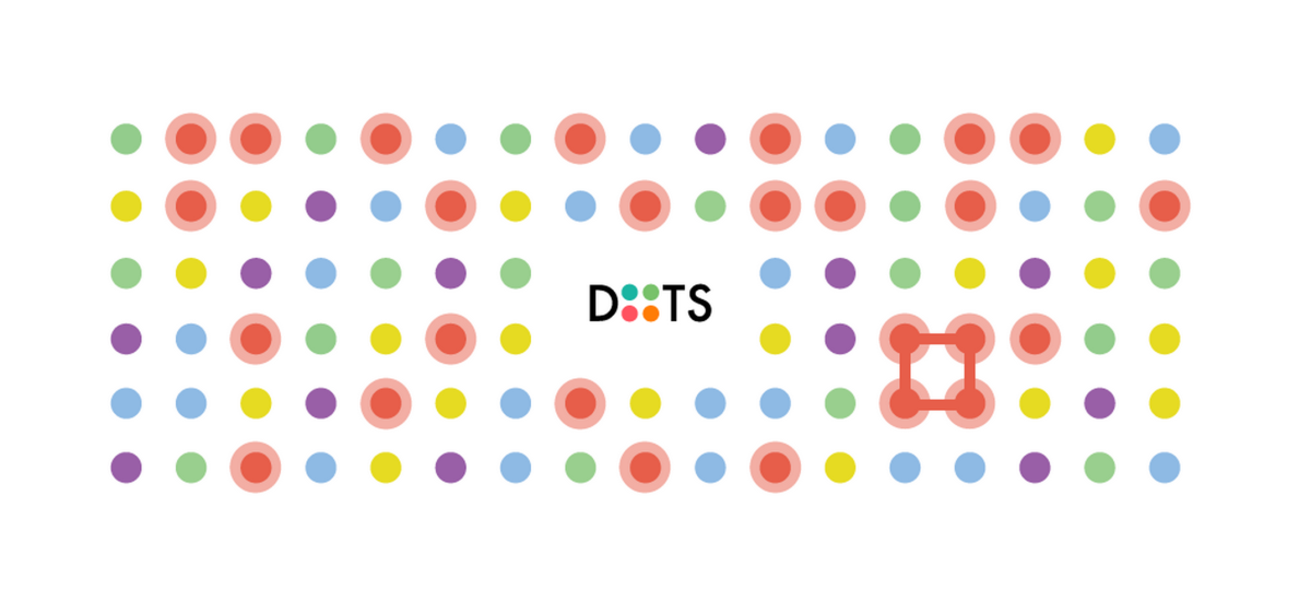 There's now a major update to the original Dots game