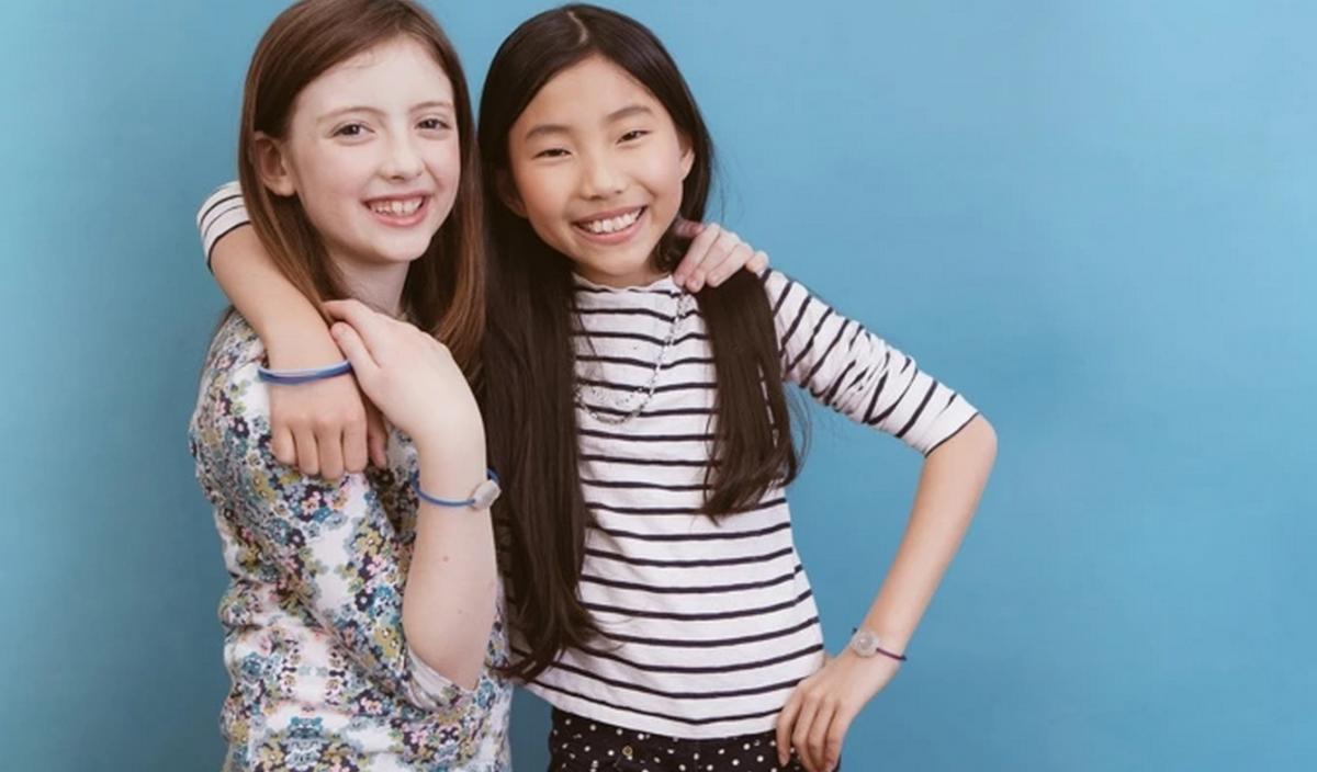 Jewelbots is a smart bracelet designed to get girls coding