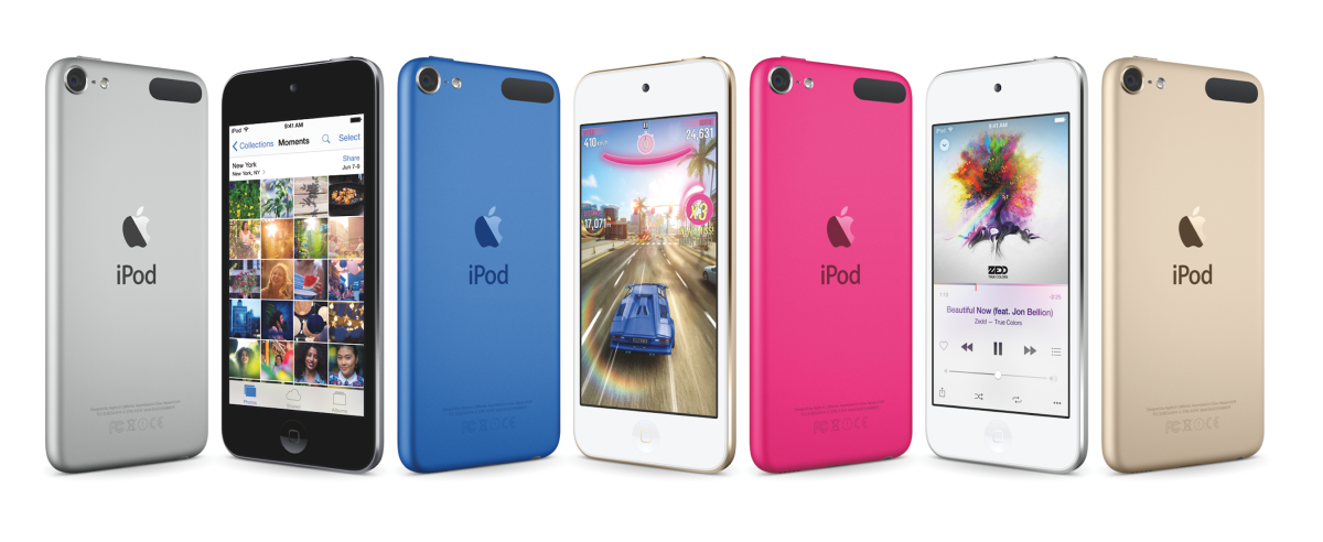 Apple unveils new iPod Touch along with new colors for iPod Shuffle and Nano