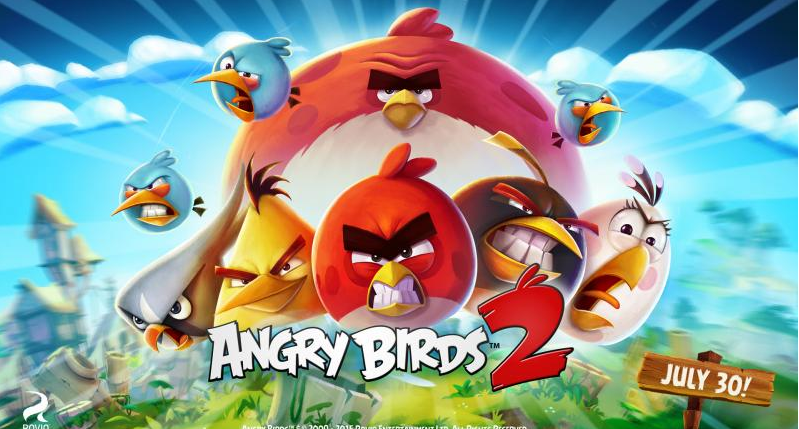 Angry Birds 2 catapults into app stores on July 30