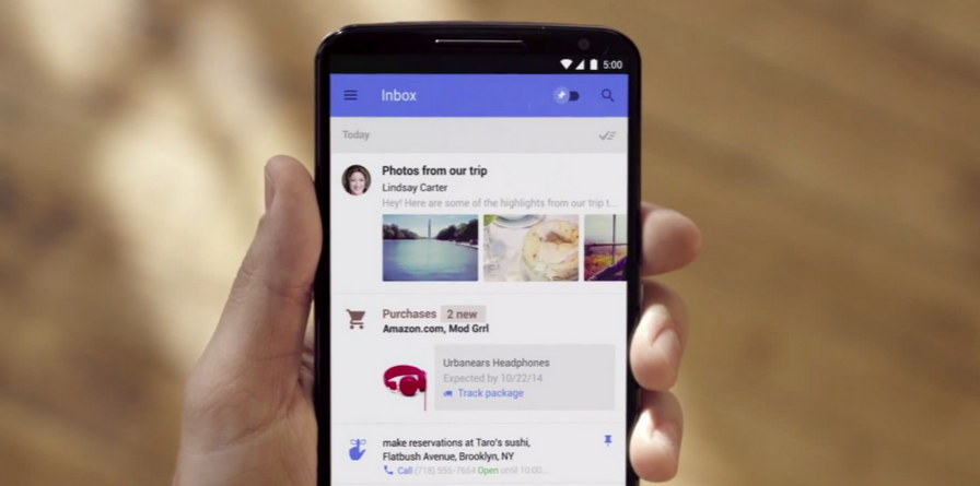 Inbox for Gmail lets you more finely calibrate the snooze timer