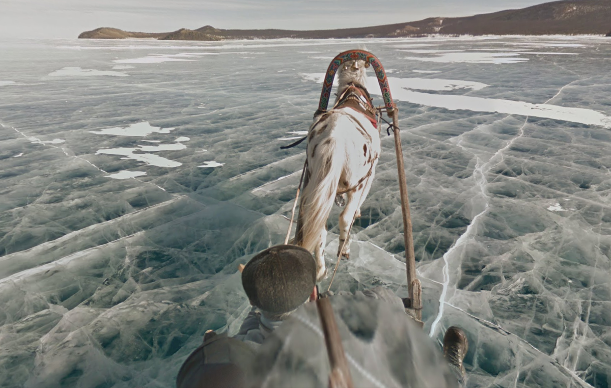 Google Street View now takes you to a frozen lake with giant ice sculptures