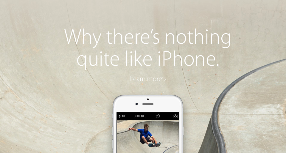 Apple wants newbies to know there's 'nothing quite like an iPhone'