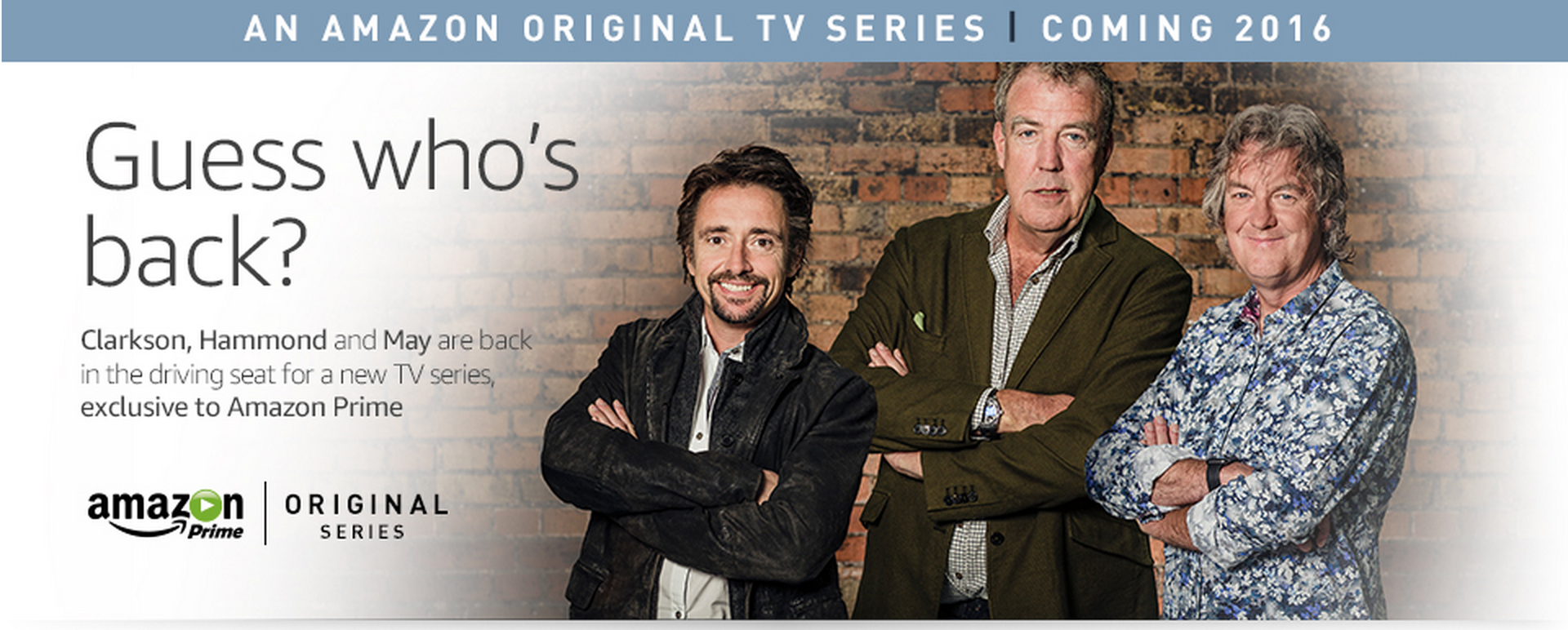 Amazon Signs Deal With ExTop Gear Presenters - Car show on amazon