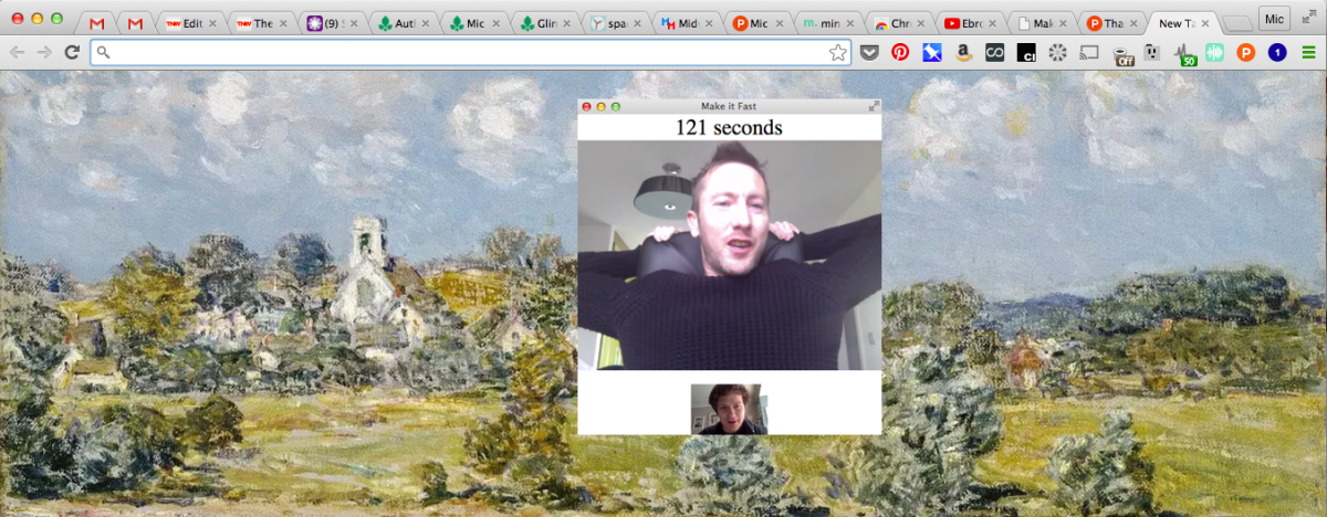 Make It Fast brings 140-second video chats to Chrome