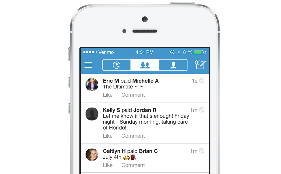 People sent $1.6B over Venmo in Q2 2015 – more than double this time last year