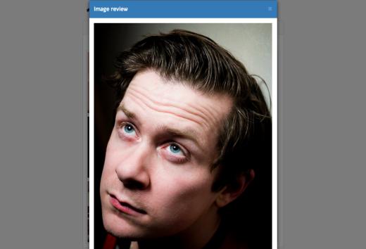 There's @brokenbottleboy's big, dumb face again.