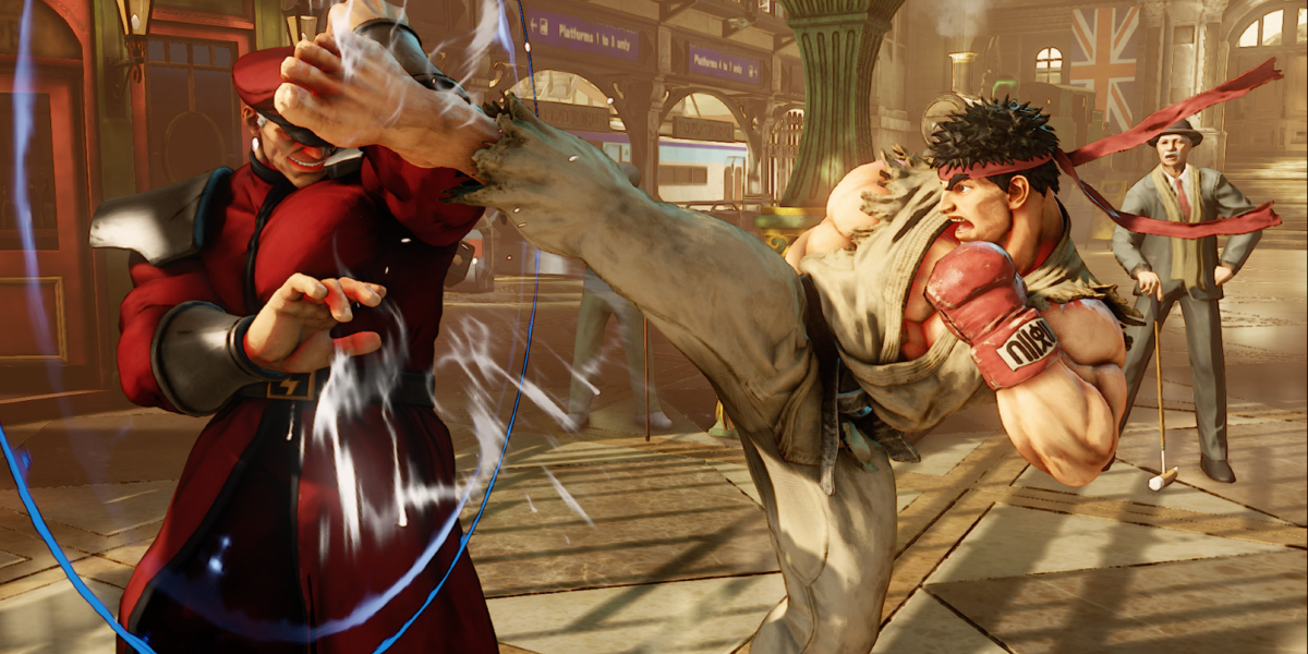Street Fighter V PS4 beta has launched and look at how happy players aren't