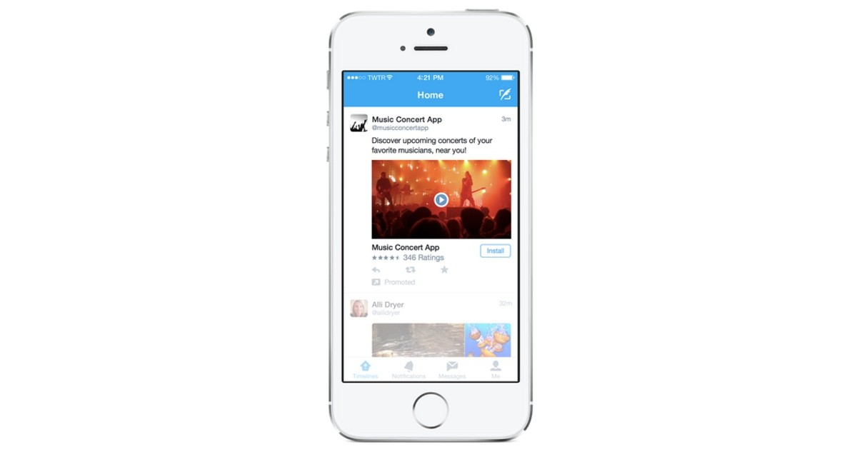 Twitter will soon let app advertisers use video, introduces new bidding process for ad space