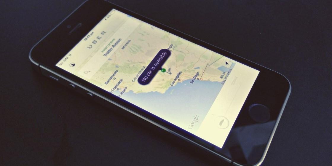 Uber (no car available USA)