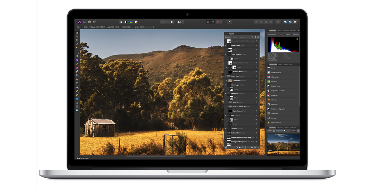 Affinity Photo, a new Photoshop challenger, makes its debut in the Mac App Store