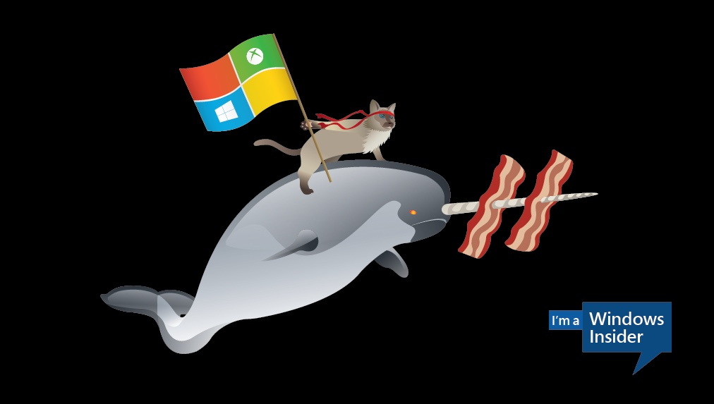 Microsoft celebrates Windows 10 by asking users to create ninja cat wallpapers