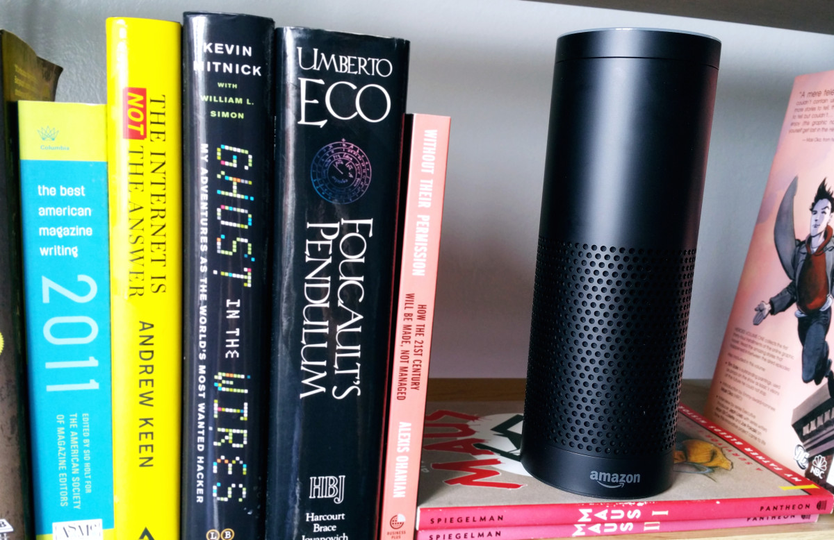 You can now make the Amazon Echo read you a Kindle book