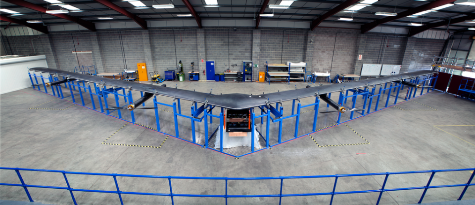 Facebook's giant internet drone is ready for testing