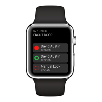 August now lets you control your front door with an Apple Watch