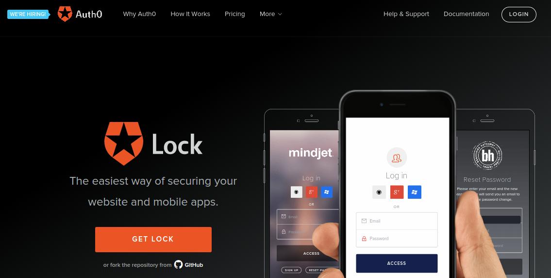auth0 lock