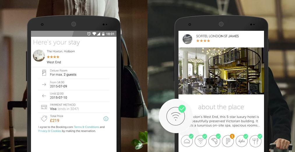 Booking Now lands on Android to help book last minute hotel rooms