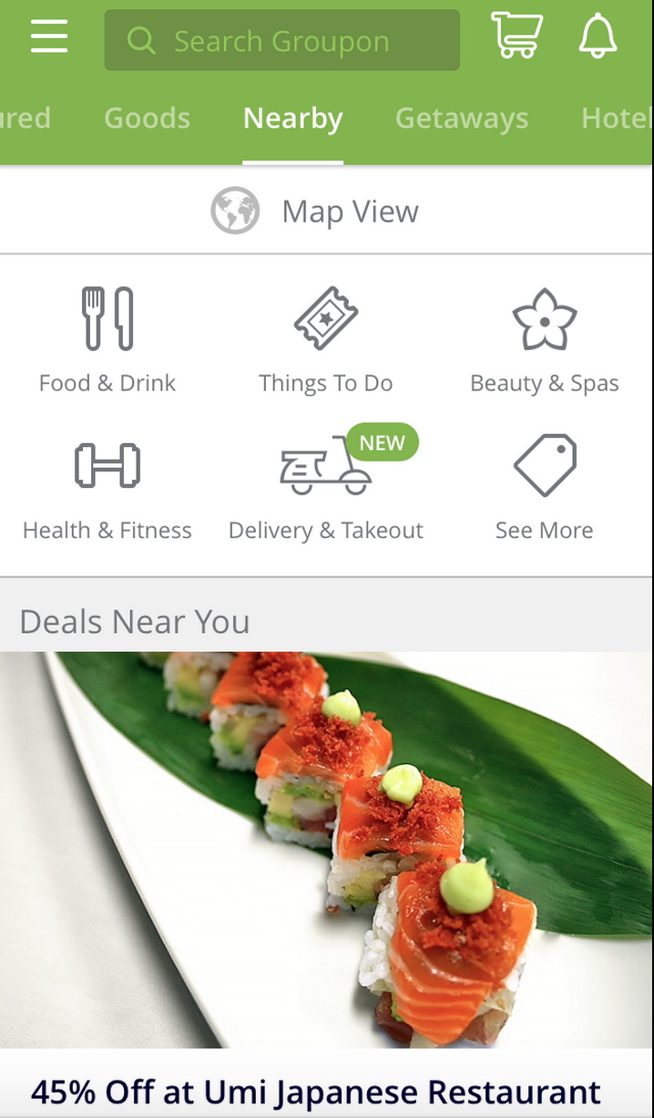Groupon Launched Its Own Food Delivery Service To Shield You