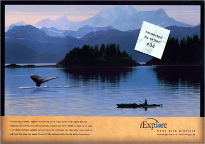 iExplore Whale Ad