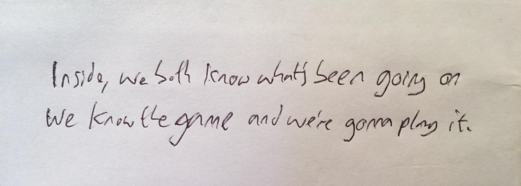 martin writes