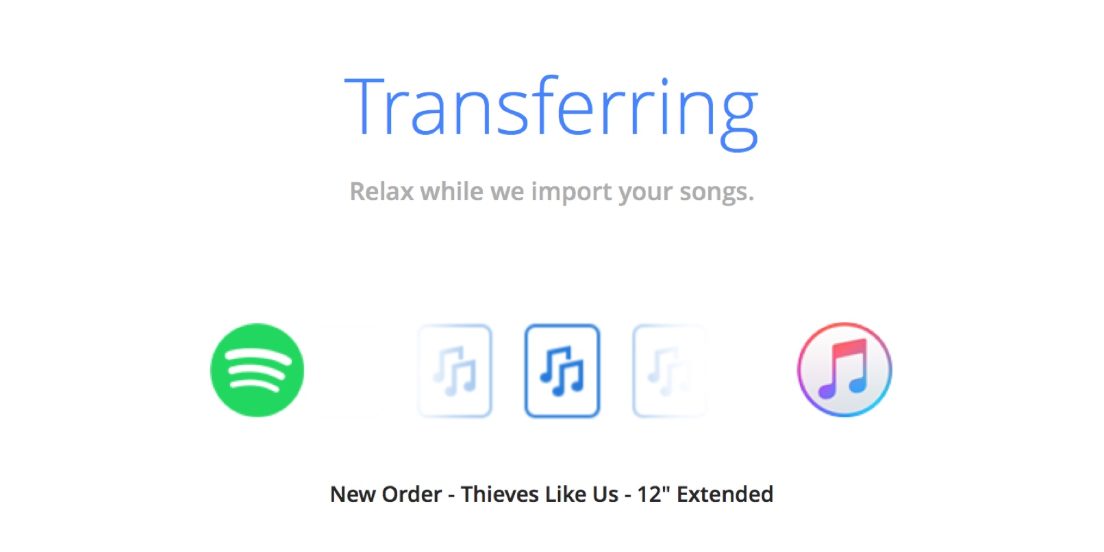 Easily move playlists from Spotify to Apple Music