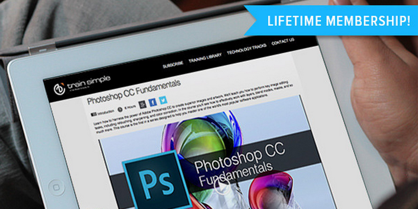 70% off lifetime access to over 5,000 Adobe training videos