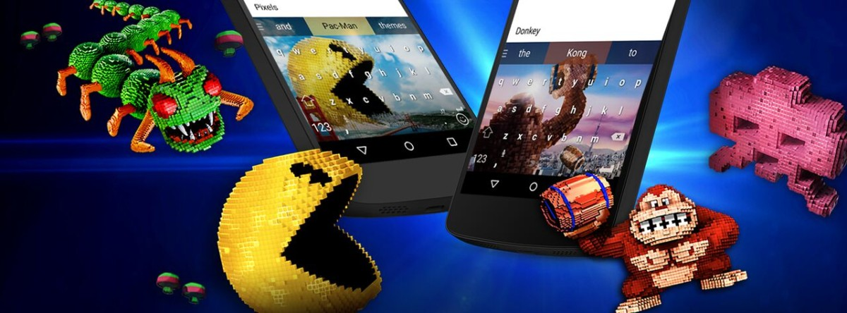 Pac-Man, Donkey Kong and more are coming to your SwiftKey