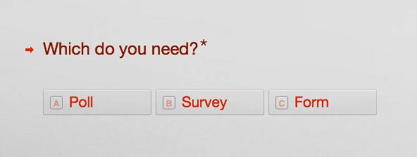 surveys form
