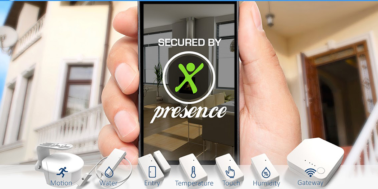 Presence Security's friendly mobile system helps safeguard your home