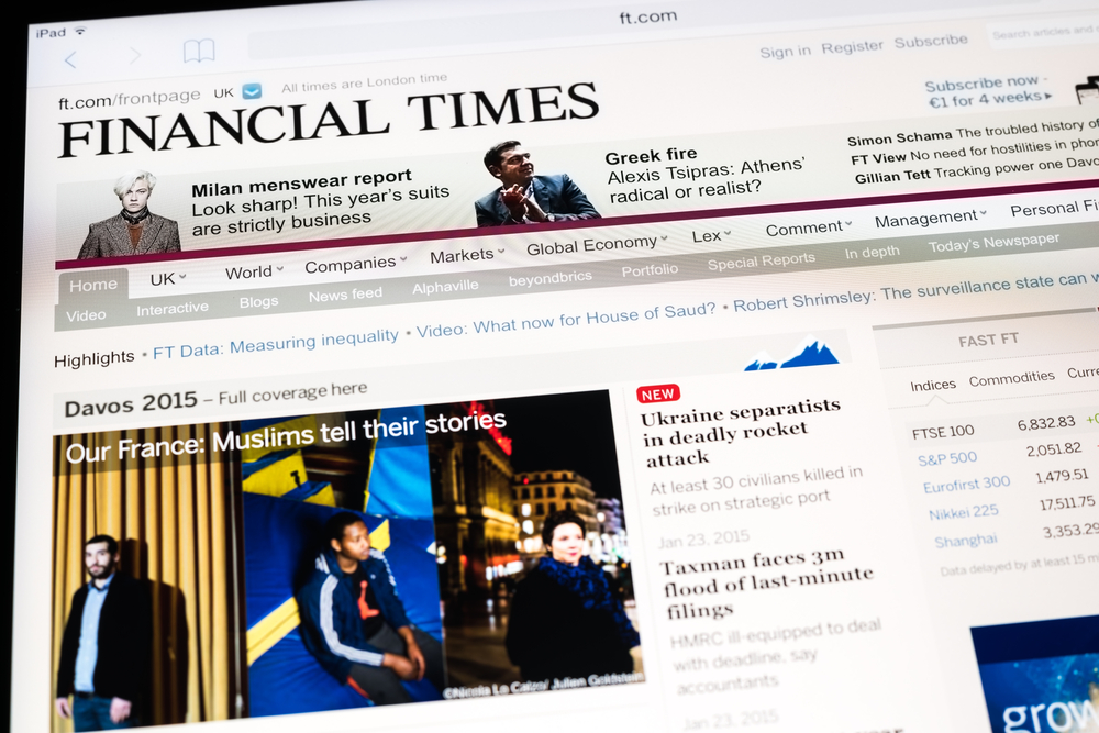 The Financial Times has been acquired by Nikkei for $1.3 billion in cash