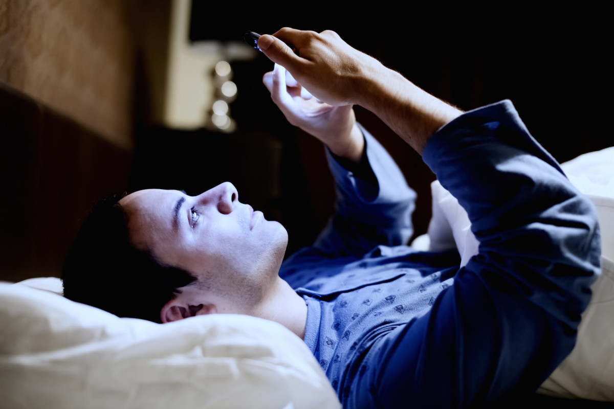 Do you sleep with your smartphone on the nightstand?
