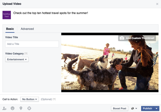 Facebook now lets Pages post 'secret' videos, introduces