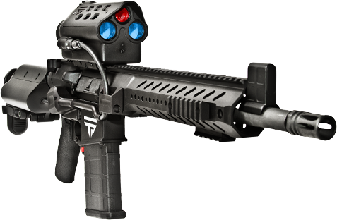 Yep! Someone made a rifle that can be remotely hacked.