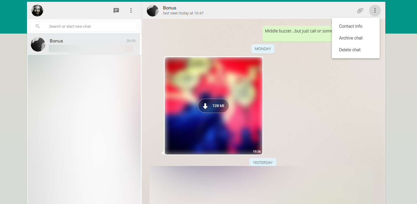 WhatsApp on the Web now lets you manage your chats, contacts