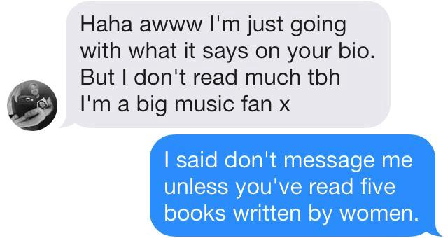 Music is the same as books, right?