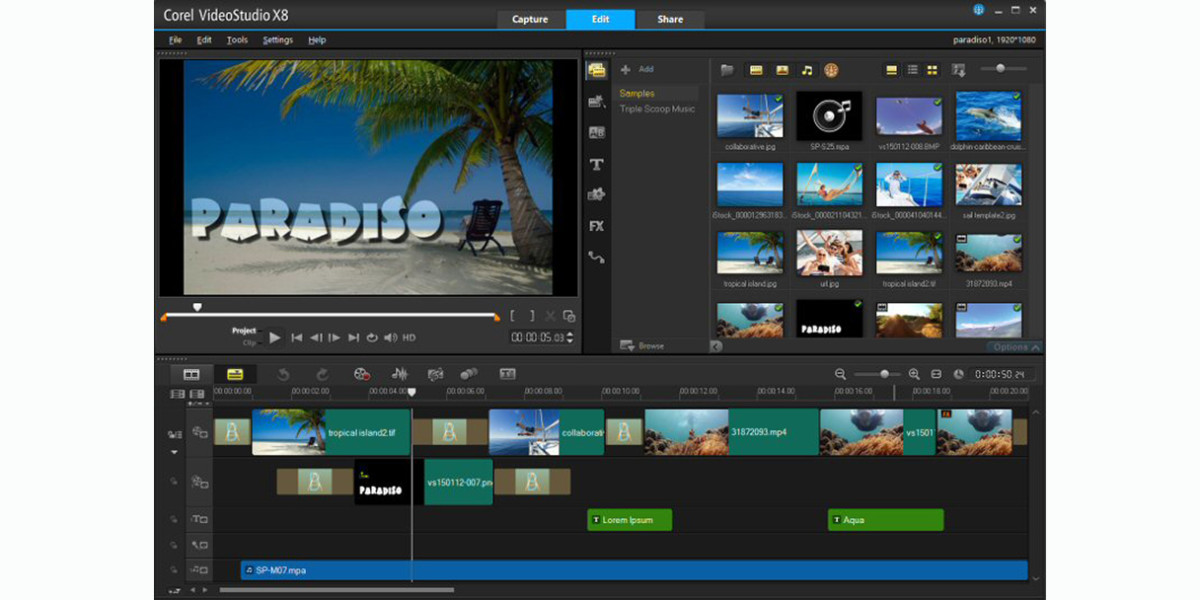 Corel 39 s videostudio x8 5 update supports windows 10 and for Free corel video studio templates