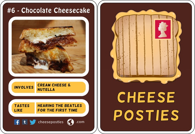 Cheese toasties by mail because obviously…