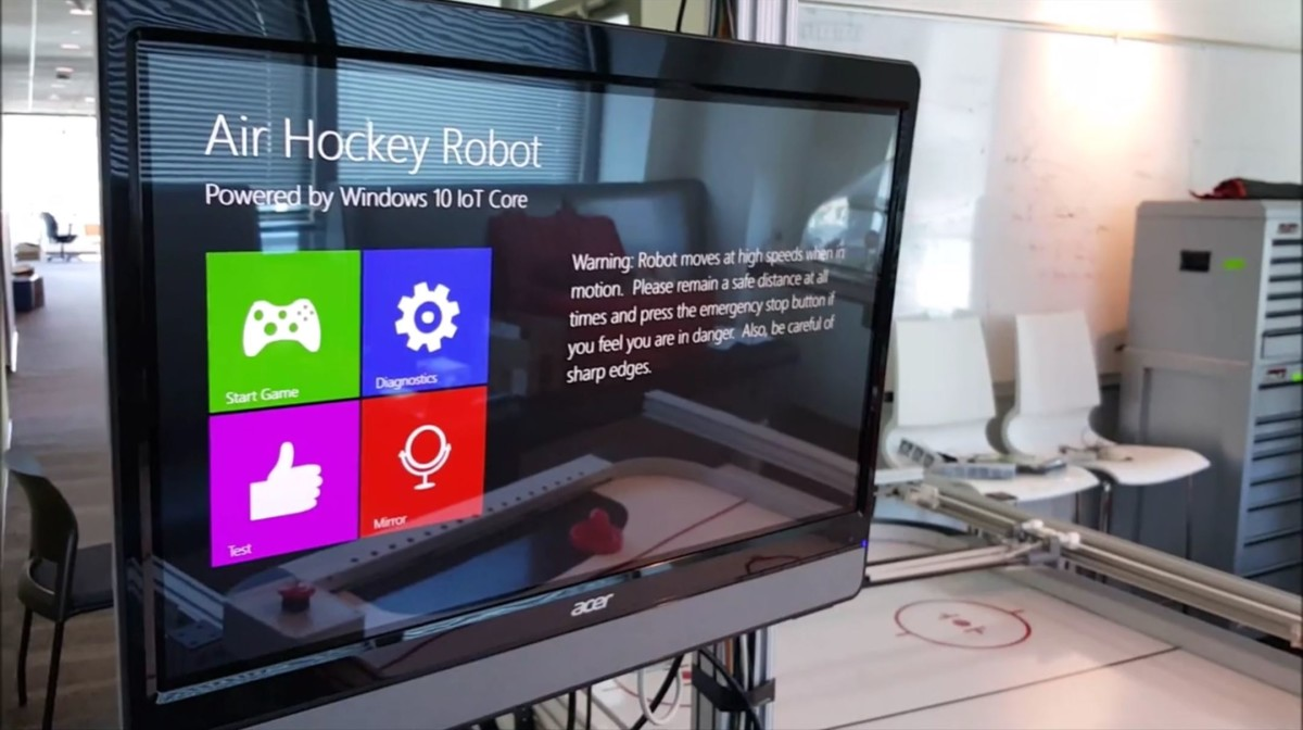 Microsoft releases its light version of Windows 10 for the Internet of Things