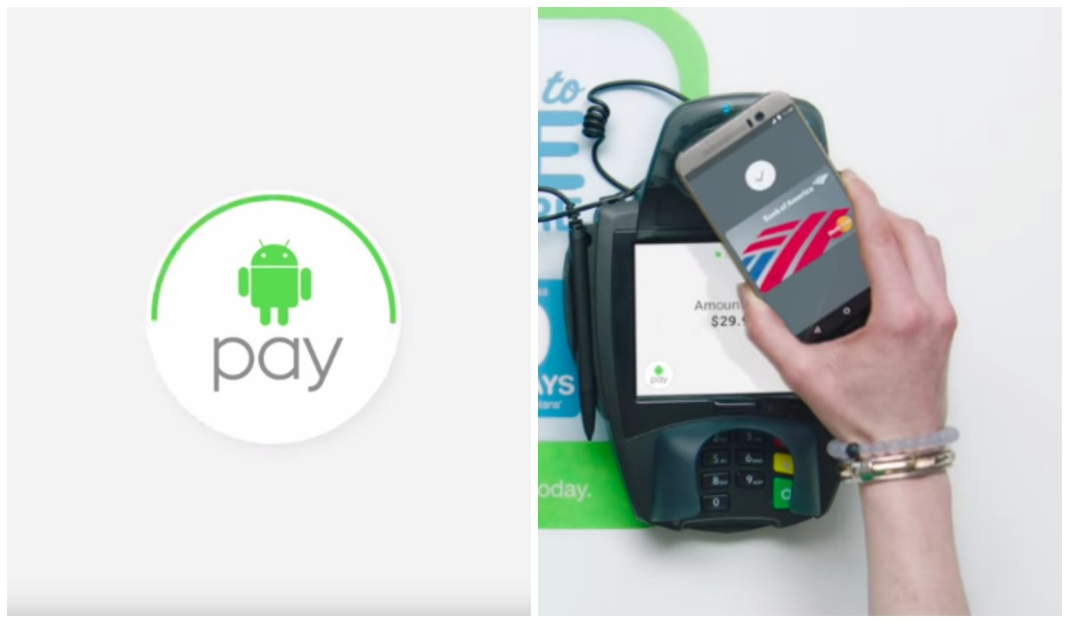 Android Pay begins rolling out today across the US