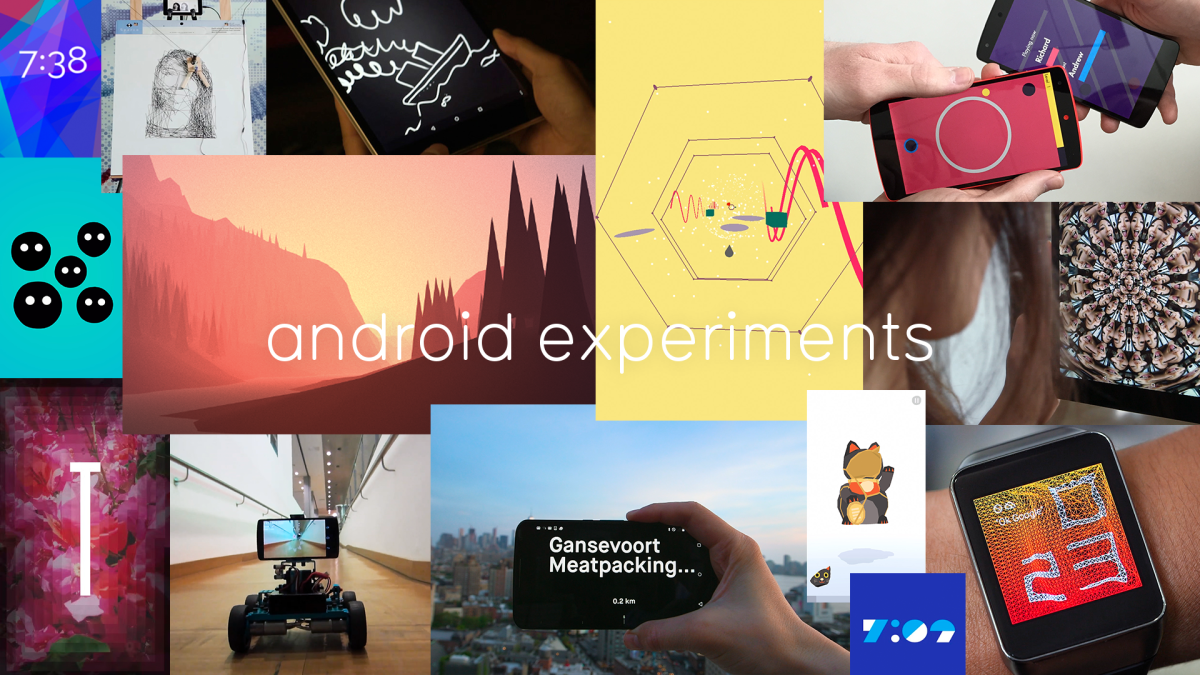 Google's Android Experiments shows you all the cool stuff you can do with Android