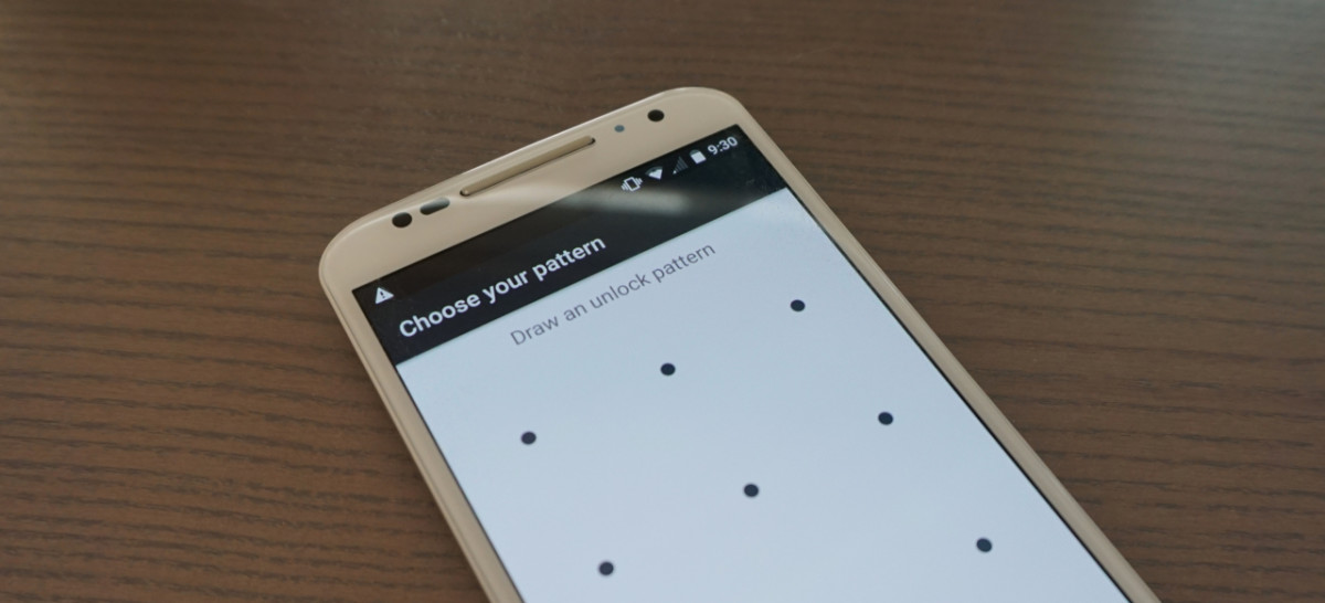 Your Android lock patterns are too predictable: A study proves it