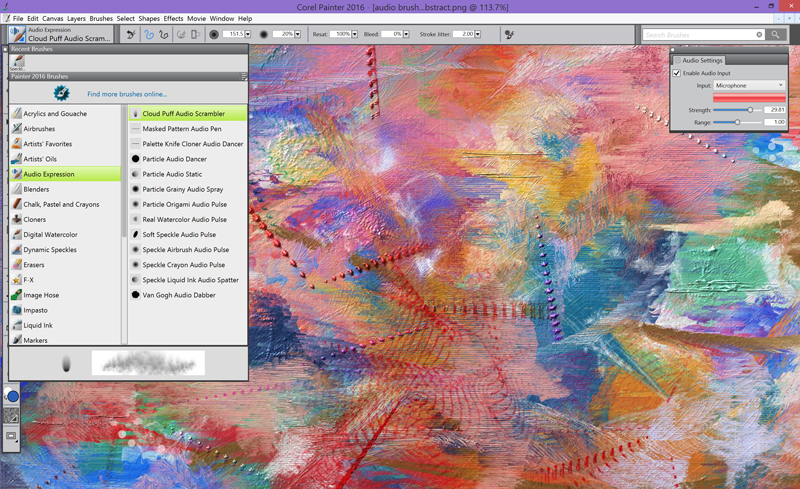 Corel Painter 2016 launches with innovative brush