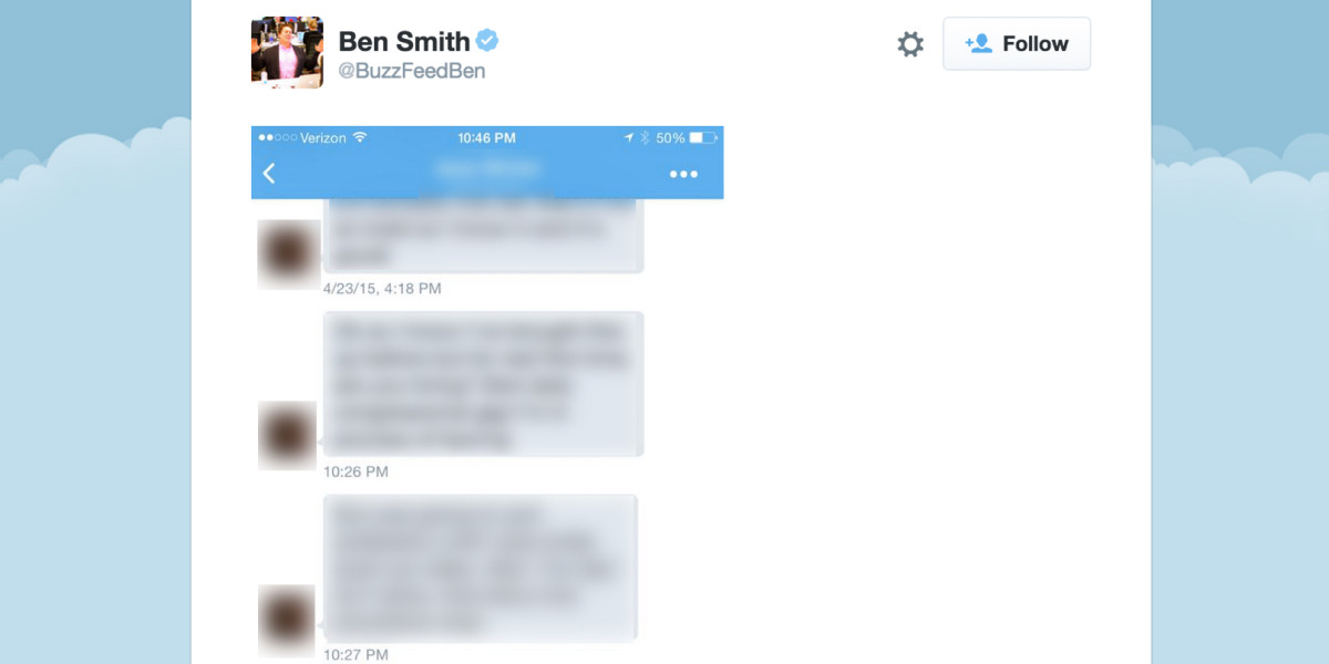 BuzzFeed's Editor-in-Chief 'accidentally' tweeted private DMs that could ruin someone's ...