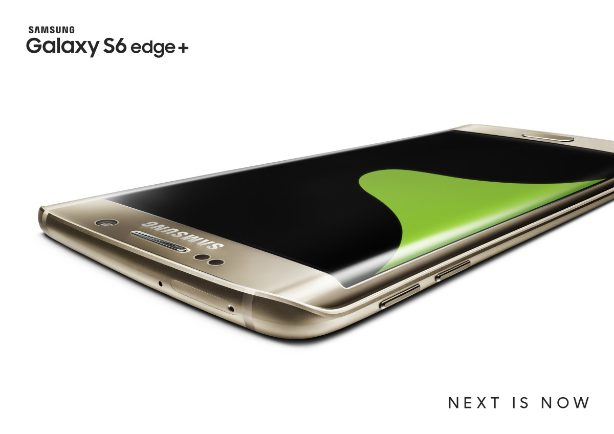 Samsung launches Galaxy S6 Edge+ with 5.7″ display, available in the US on August 21