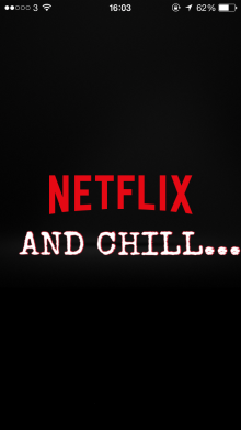 Dating Netflix And Chill