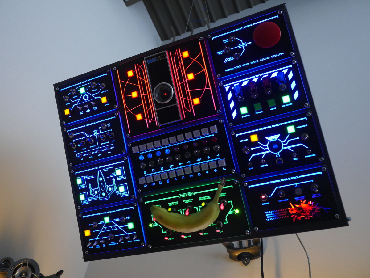 Man builds real-life control panel for his computer, and it's awesome