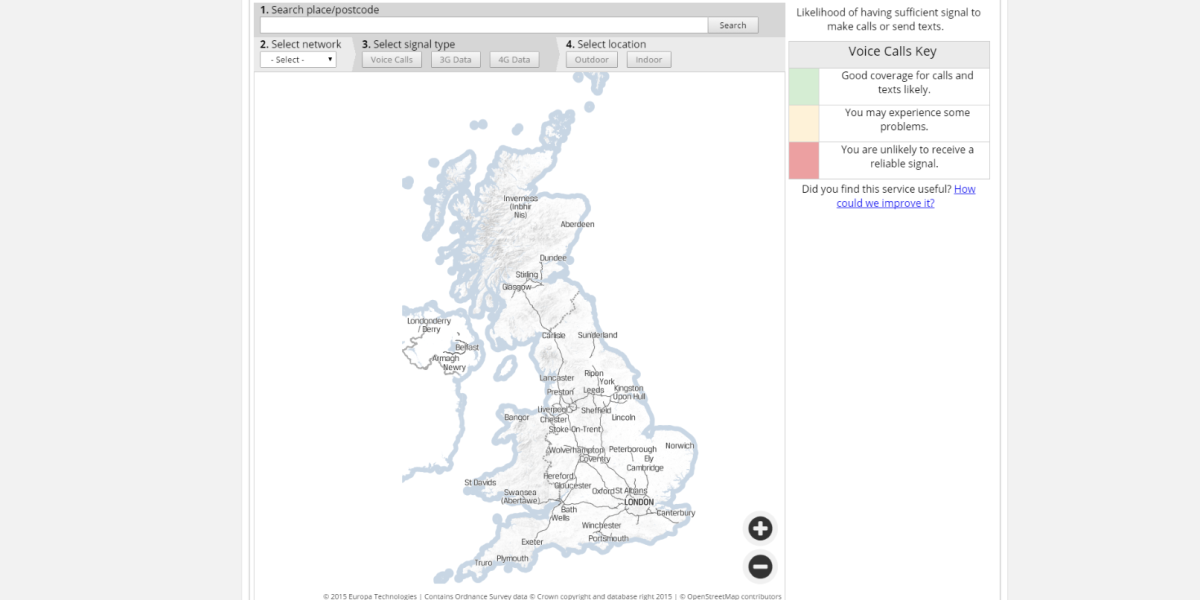 There's now an official way to check the mobile coverage of your new house in the UK