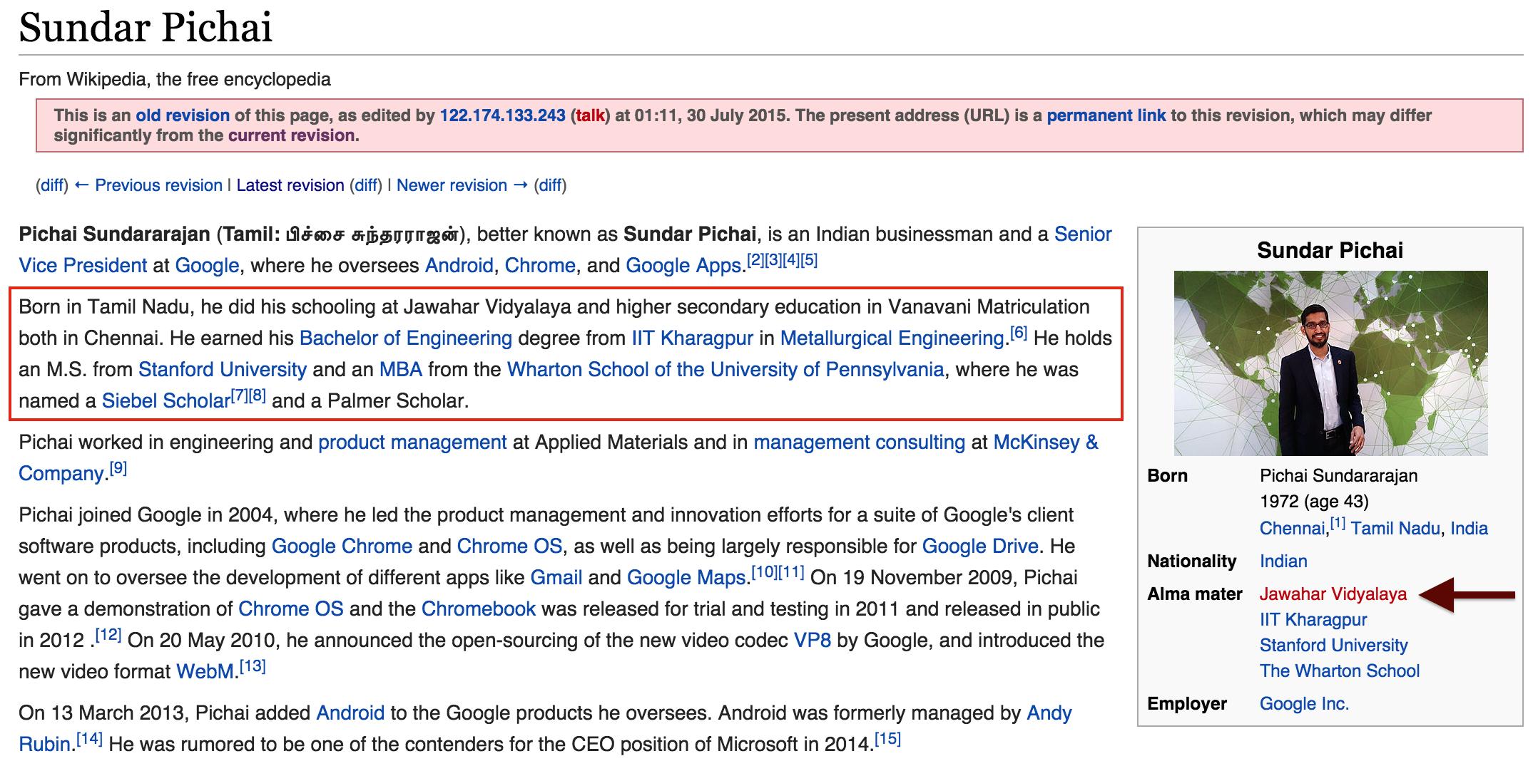 Pichai Wiki 1